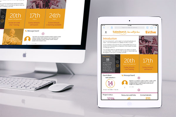 Sainsburys Evolve - ProCreative Software House